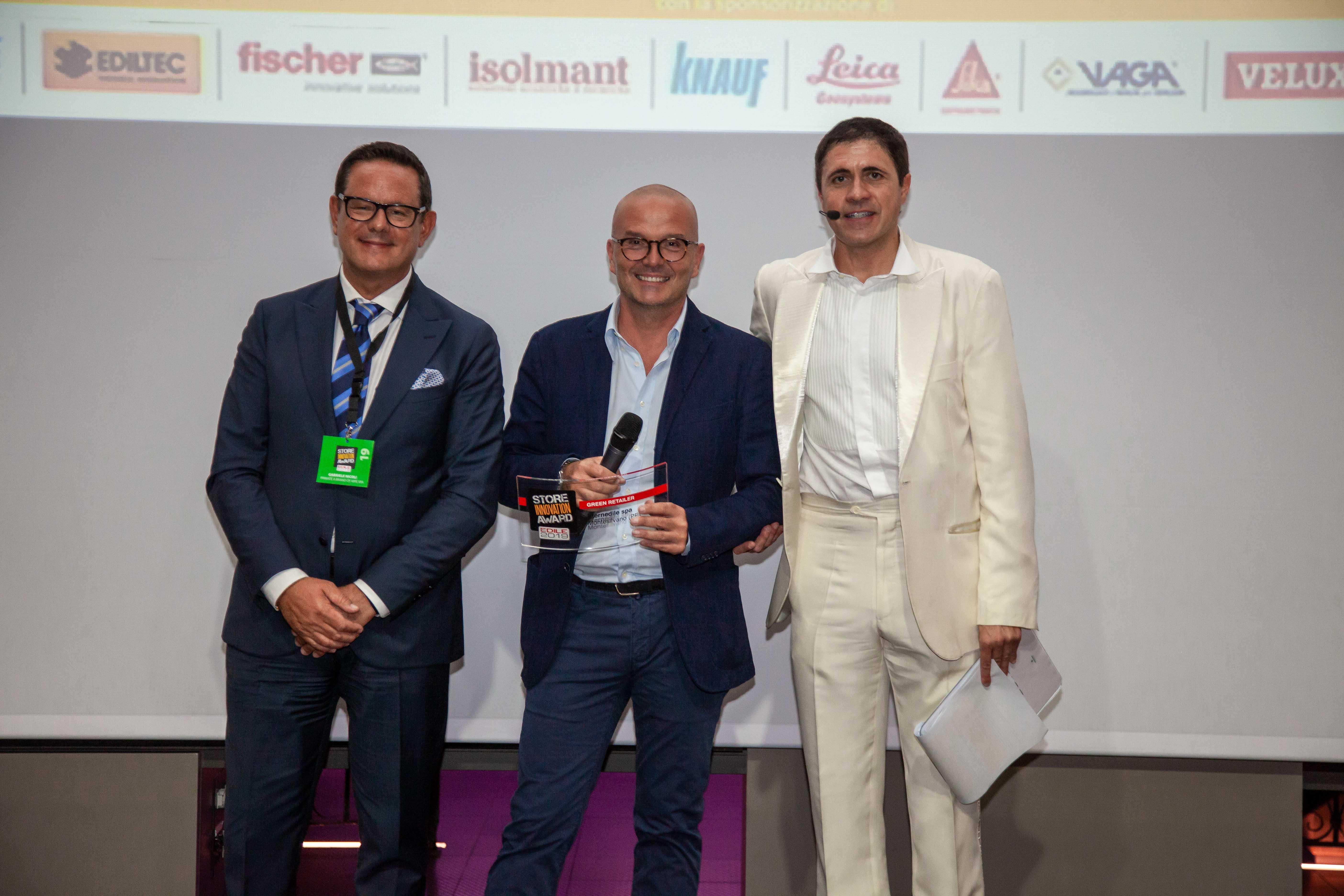 "Eternedile Montesilvano (Pescara) vince il premio ""Green Retailer"""